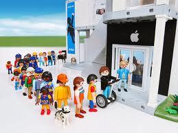 queue for apple