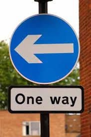 one way sign 3