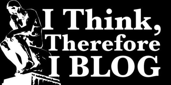 I think I blog