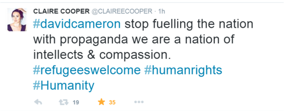ClaireCooperTweet