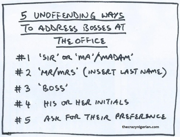 5 Unoffending Ways to Address Boss